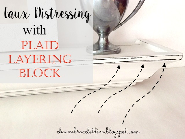 plaid layering block