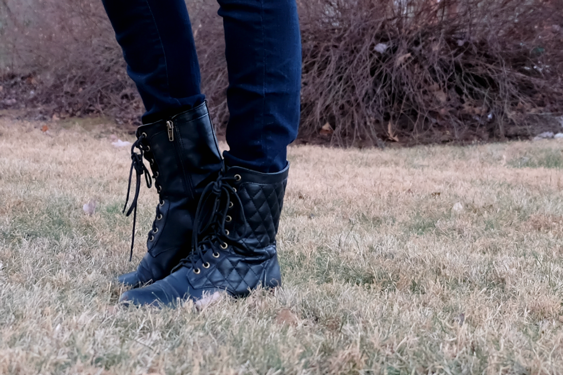 ethical fashion and pleather boots