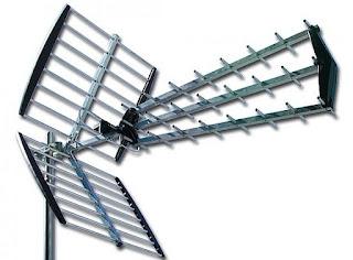 ¿Cuáles son las antenas de TV más utilizadas?