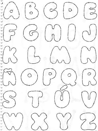 Imprimir Redondas Para Letras Para Moldes
