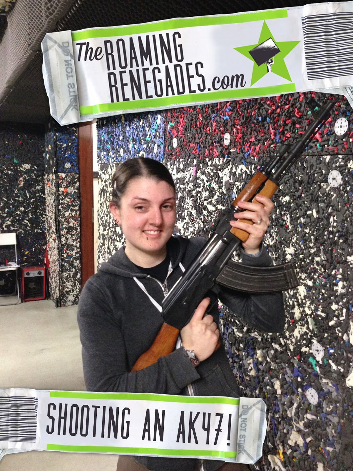 We shot an AK47 in HUNGARY! (Plus other weapons!)