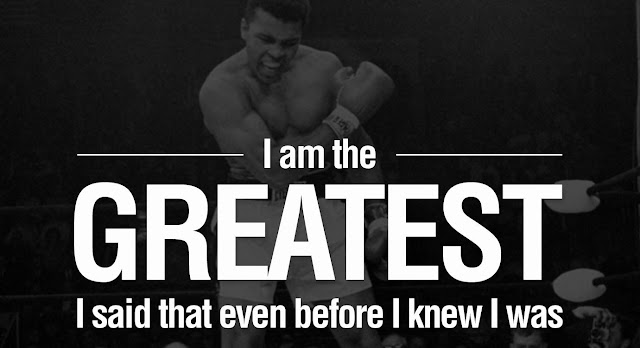 Charmant Muhammad Ali Motivational Business Quotes Startup Entrepreneur Quote  Greatest Champion Impossible Is Nothing Small Business