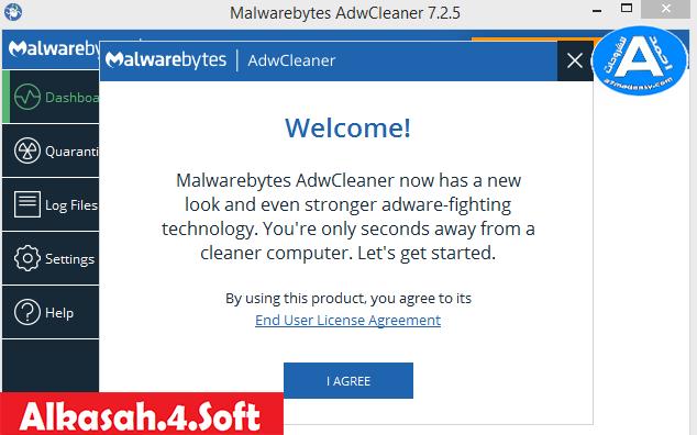 حصريا أداة Malwarebytes Adw Cleaner7 2 6 0 من شركة مالوير
