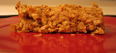 PB Banana Breakfast Bake Junk Food Nutrition