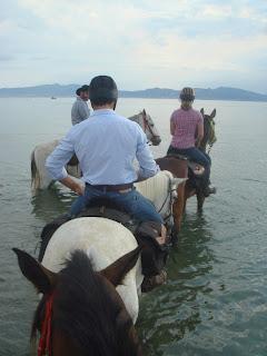 Espanja, Katalonia, Ruusujen lahti, ratsastusmatka
