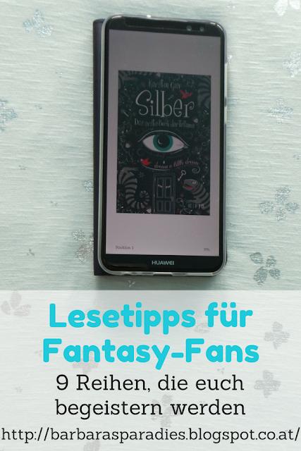 Lesetipps für Fantasy-Fans: 9 Reihen, die euch begeistern werden -  Silber-Trilogie von Kerstin Gier