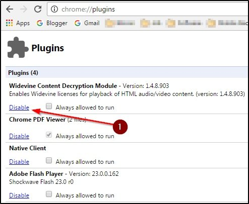 Plugin disable kare