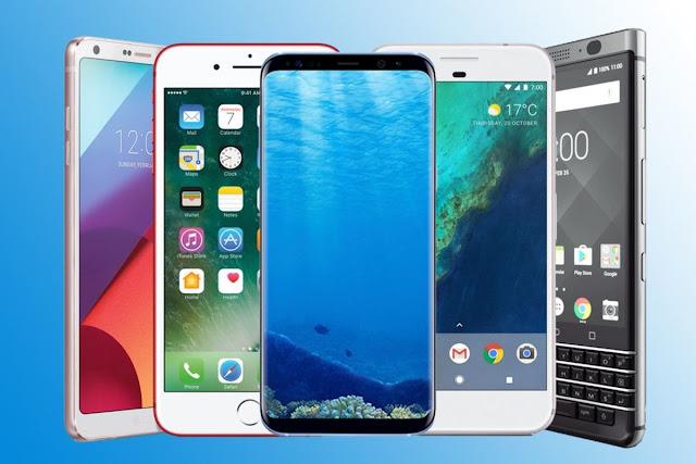 تعرف على أكثر 6 هواتف مبيعًا  في العالم خلال منتصف مايو 2018