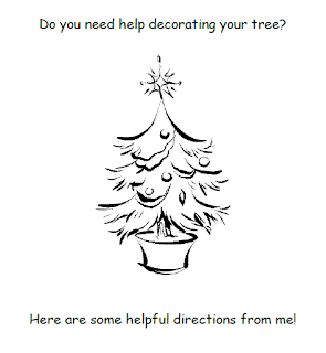 Have fun with your preschool, Kindergarten, or 1st grade students this December by having them tell you how to decorate a Christmas tree. Then turn it into a class book! Your students will love it!!
