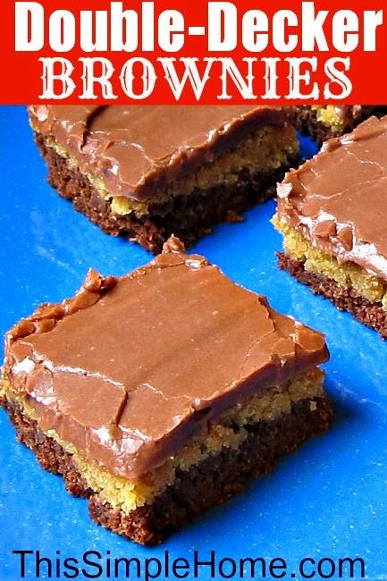 Double Decker Chocolate Bar Cake Recipe