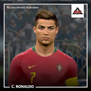 PES 2017 Faces Cristiano Ronaldo Classic by Ben Hossam FaceMaker