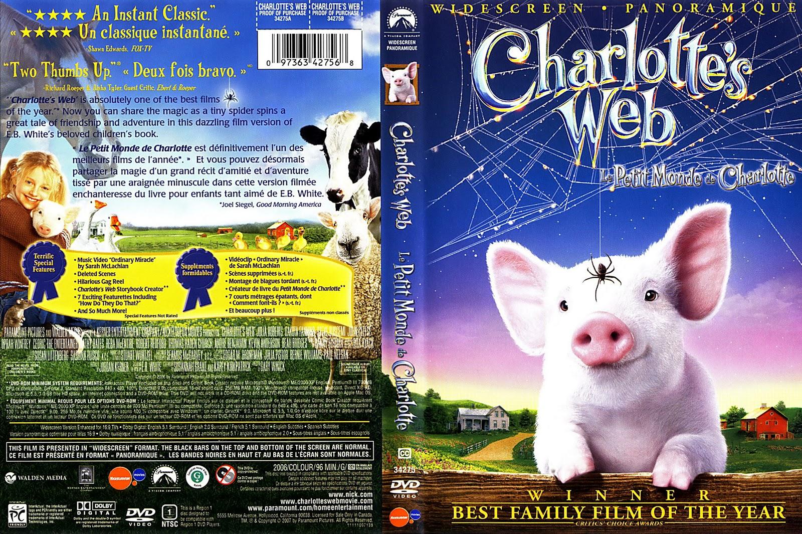 Jaquette dvd jaquette dvd le petit monde de charlotte - Le monde de charlotte ...