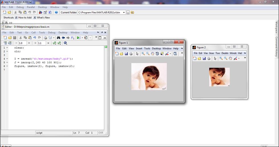d prime matlab code for image
