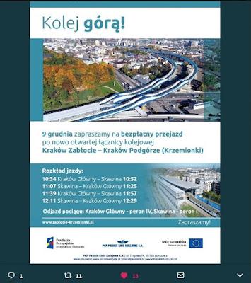 Polskie Linie Kolejowe, Twitter
