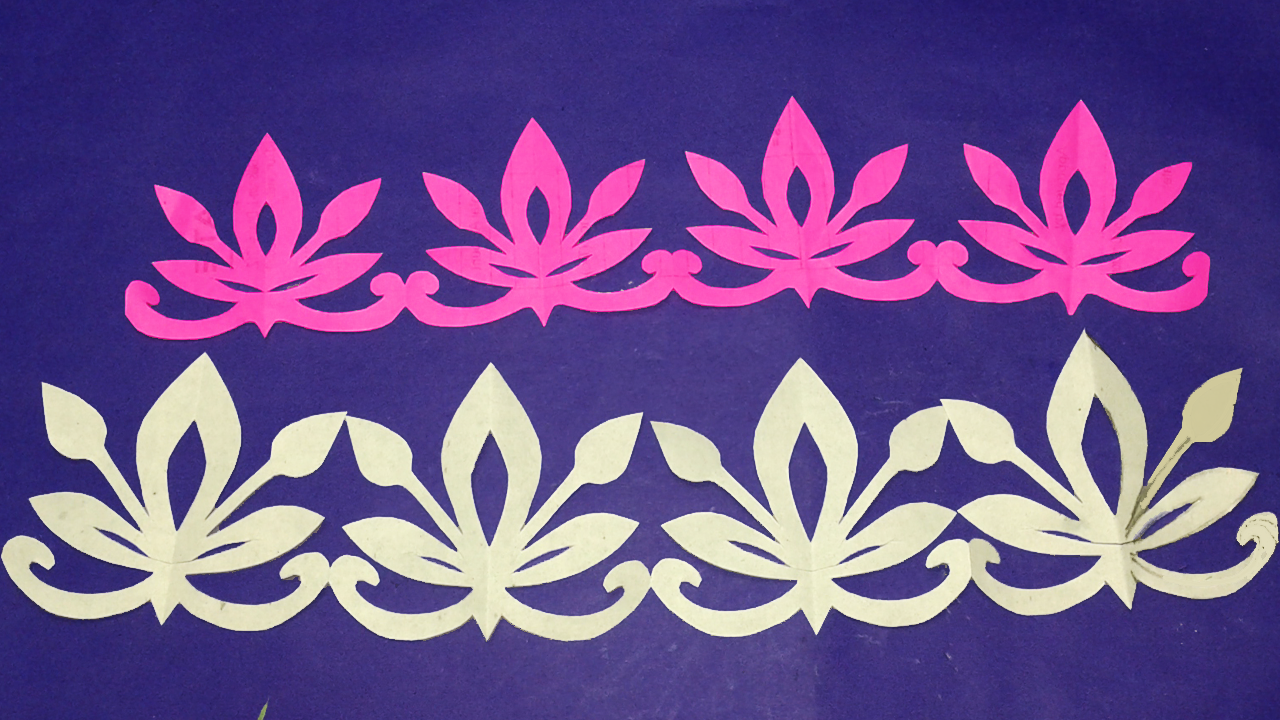 Easy Craft Paper Cutting Design