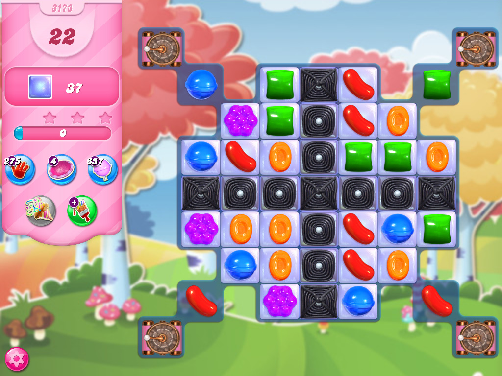 Candy Crush Saga level 3173