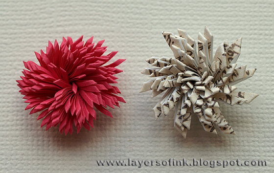 Layers of ink quilling fringed flowers tutorial mightylinksfo