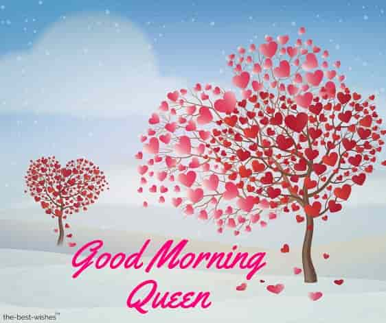 good morning wishes for my queen