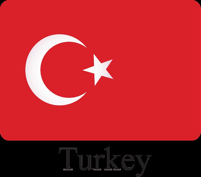 Türk Bayrağı Vektörel