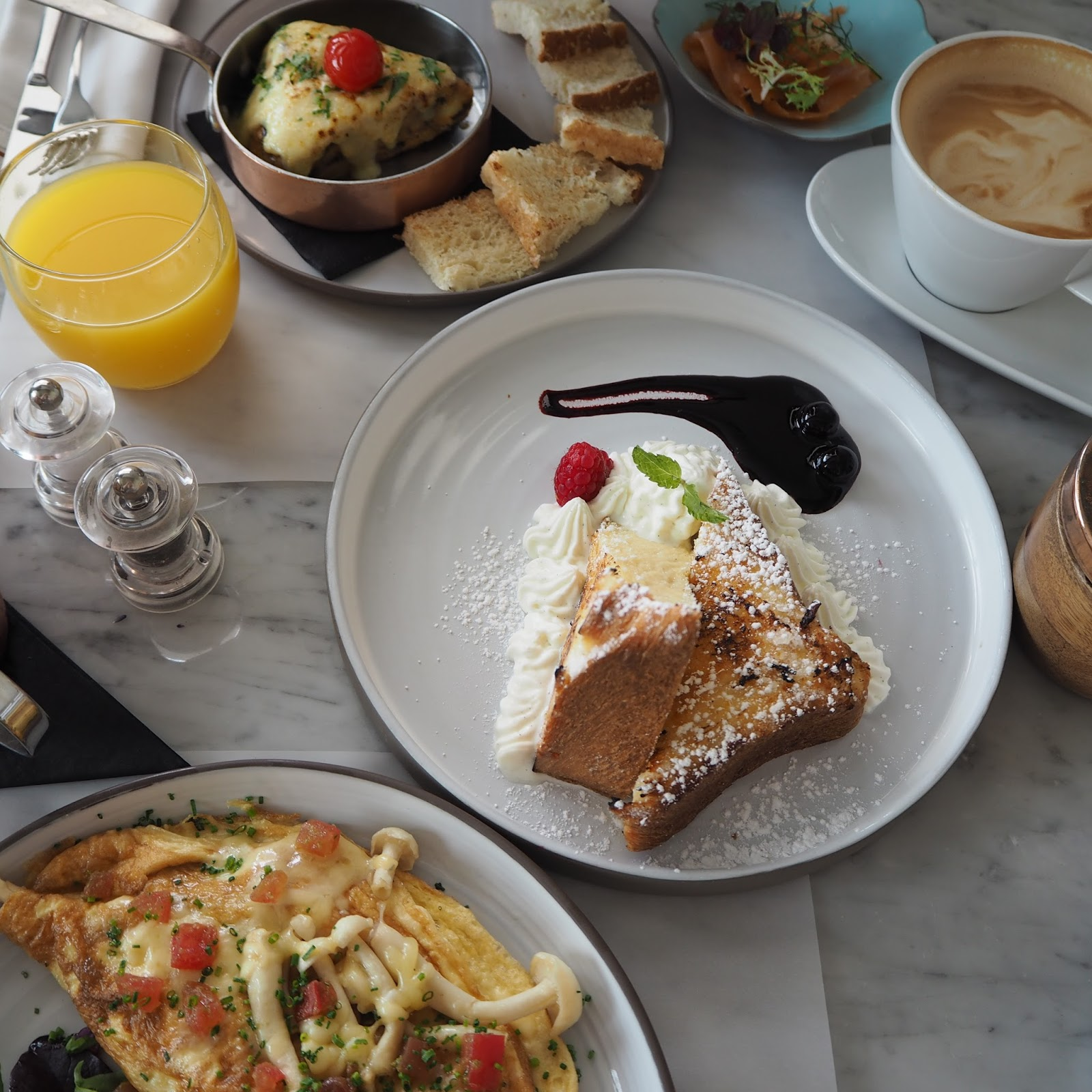 breakfast places in Dubai