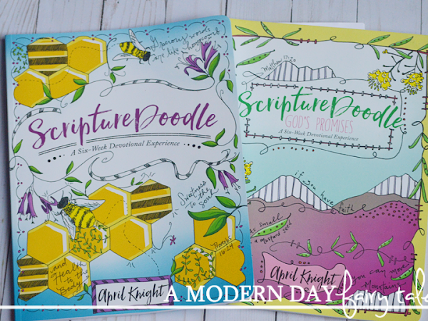 Doodle Closer to God {A ScriptureDoodle Review}