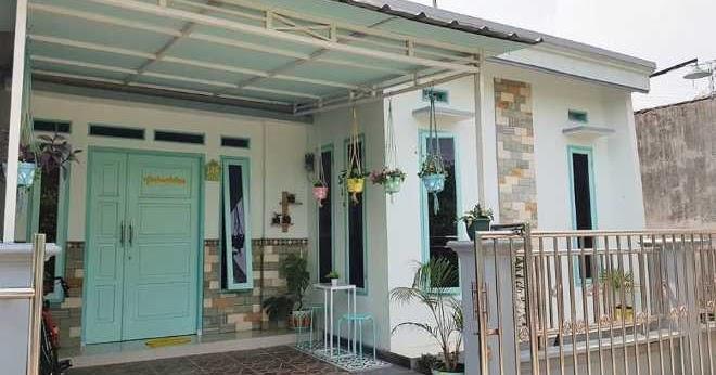 7 Rumah Minimalis Tampak Depan Dengan Batu Alam Terbaik Rumah Minimalis