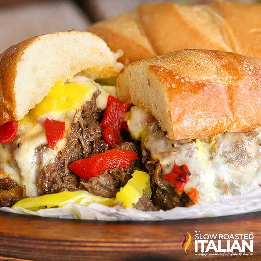 Italian Beef Recipe (Crock Pot)