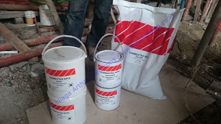 grouting epoxy pada balokan beton