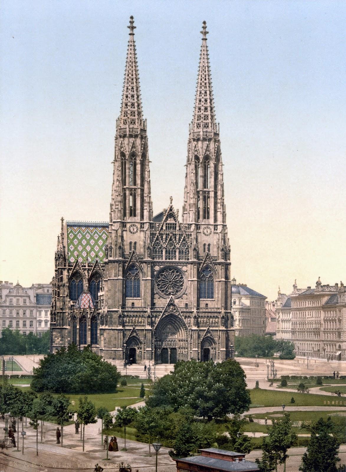 [Resim: Wien_Votivkirche_um_1900.jpg]