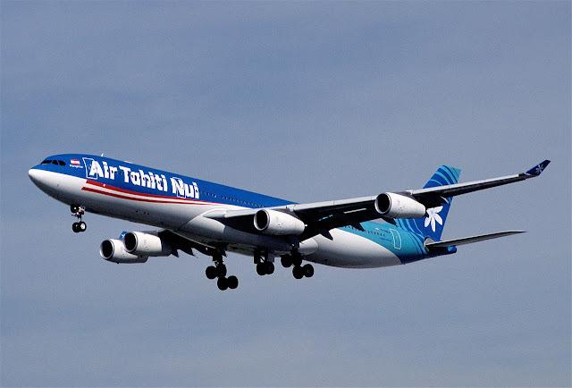 環遊世界|奧克蘭機場貴賓室+大溪地航空 TN102 奧克蘭→Papeete 飛行紀錄 (A340-300)