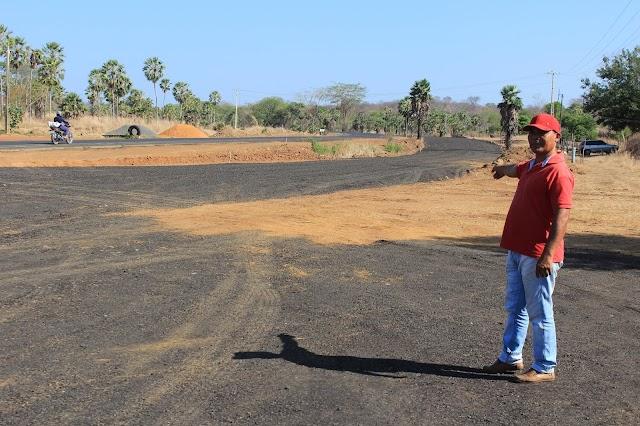 Através de ação do ativista político, Leléo, Dnit eleva trecho da BR-316
