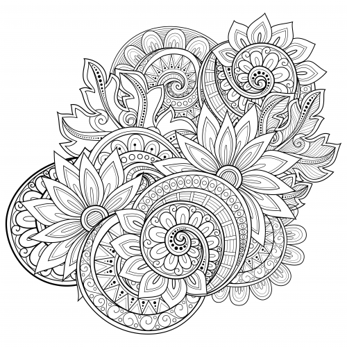 Top 15 Adult Coloring Books On Amazon For Relaxation And Free Printable Secret Garden