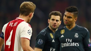 Ajax Amsterdam vs Real Madrid 1-2 Highlights