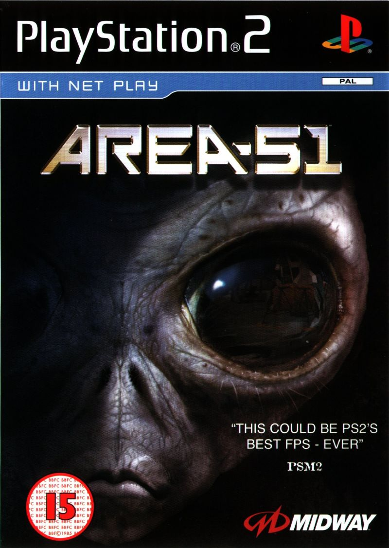 Area 51 PAL PS2