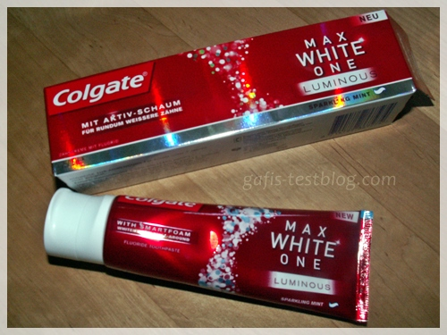 Neu Colgate MAX WHITE ONE LUMINOUS