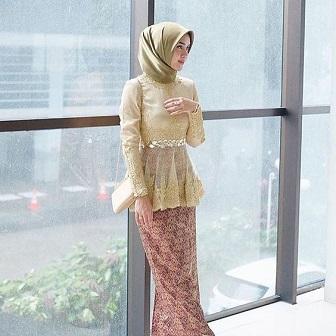Model Kebaya Muslim Atas Bawah