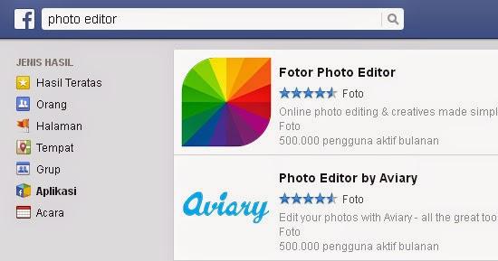 Cara Mudah Edit Foto Melalui Facebook