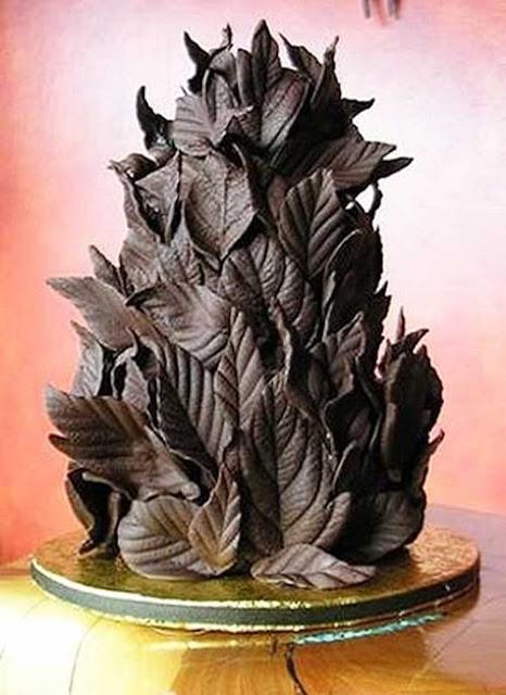украшение шоколадного торта в домашних условиях
