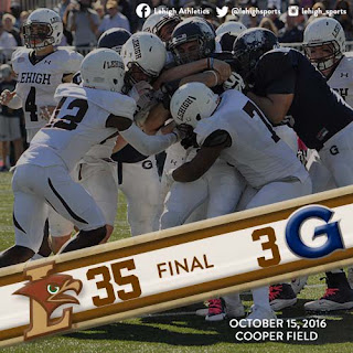 QUICK RECAP: Lehigh Makes Statement In DC, Dominates Georgetown 35-3