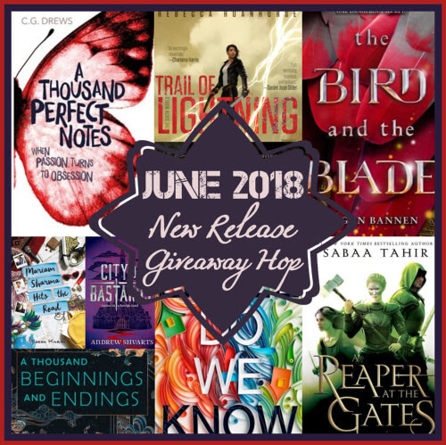 WINNER ANNOUNCEMENT OF JUNE NEW RELEASE GIVEAWAY