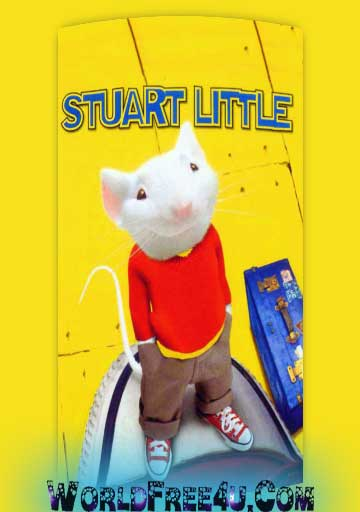 Poster Of Stuart Little In Dual Audio Hindi English 300MB Compressed Small Size Pc Movie Free Download Only At worldfree4u.com