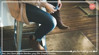 Boots, Jenis Sepatu Wanita Untukmu yang Suka Tampil Menawan