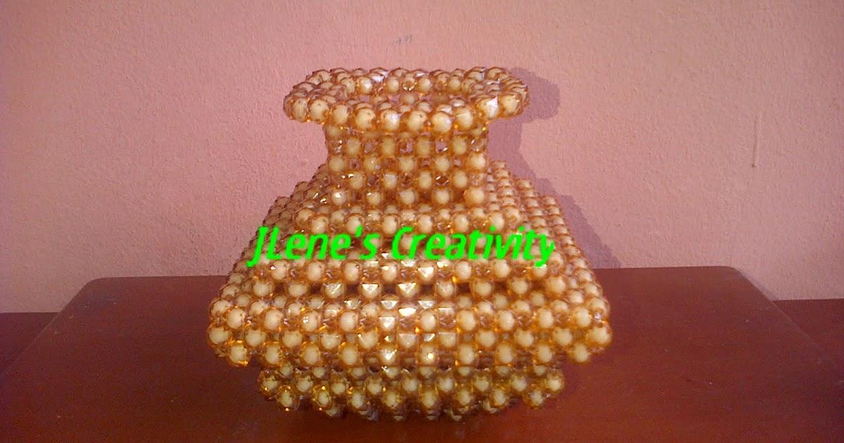 jlene s creativity beaded flower vases