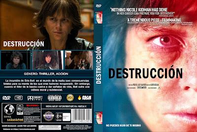 CARATULADESTRUCCION - DESTRUCTOR - 2018 [COVER DVD]