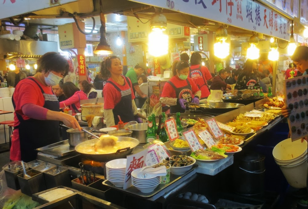 Shilin Nachtmarkt Taipei