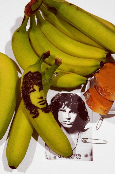 Arte y bananas o plátanos