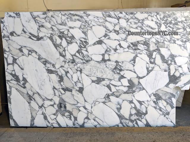 Arabescato Corchia Marble Slab NYC SM