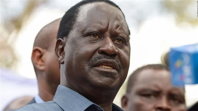 Kenya's opposition leader Raila Odinga vows to continue disobedience after sham votes
