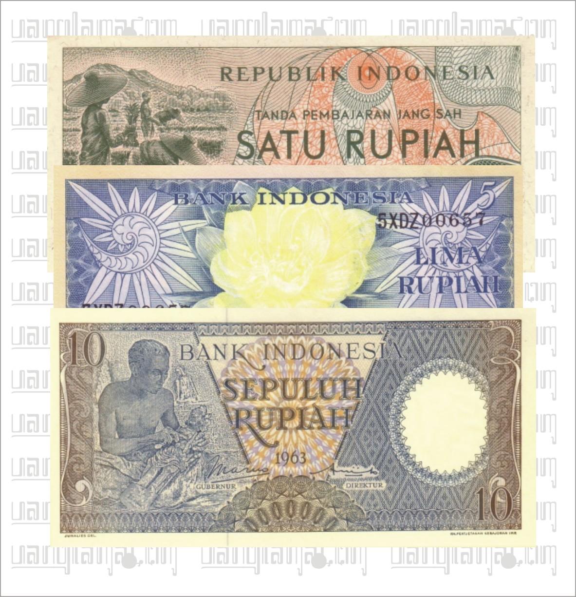 Paket 16 Rupiah D