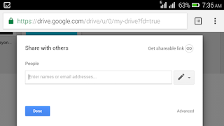 Google drive document permission status
